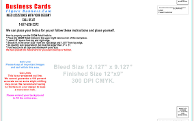 coroplast yard signe business cards flyers and banners card bleed