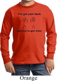 halloween long sleeve t shirts kids funny shirt i u0027ve got your back long sleeve tee t shirt i u0027ve