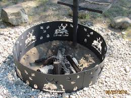 Firepit Ring Pit Ring Homes