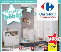 chambre bébé carrefour carrefour promotion commode à langer lit armoire à 2