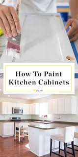 what is the best paint for kitchen doors how to paint wood kitchen cabinets with white paint kitchn
