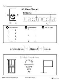 shapes no prep worksheets shapes worksheets preschool and