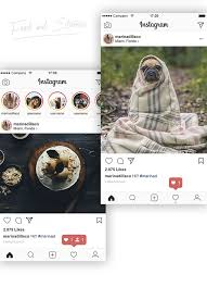 instagram layout vector illustrator top 27 free psd instagram mockup templates updated 2018