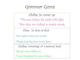 grammar gurus clothe to cover up the sun clothes the earth with