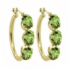 peridot earrings peridot earrings