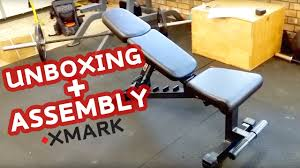 unboxing and assembly of the xmark fitness fid dumbbell weight