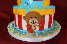 first birthday circus circus themed birthday cake cakecentral com