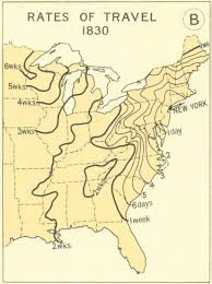 First Map Of United States by A Mapped History Of Taking A Train Across The United States The