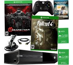 xbox one 500gb gears of war ultimate edition console bundle for xbox one 500gb gears of war with fall out 4 u0026 3 month xbox live