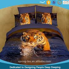 Tiger Comforter Set 3d Duvet Set 3d Duvet Set Suppliers And Manufacturers At Alibaba Com