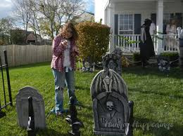 front yard graveyard halloween home decorating interior design