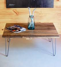 Barn Wood Coffee Table Reclaimed Barn Wood Coffee Table With Hairpin Legs Features