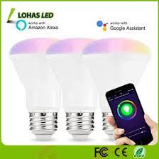 smart lights google home china 8w e26 br20 smart light google home alexa alexa voice