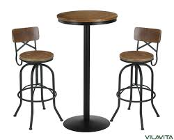 what is a pub table vilavita 3 piece bar table set 41 5 pub table with 2 bar stools