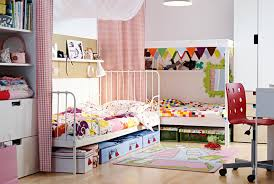 combined boy and bedroom ideas white live bed with green