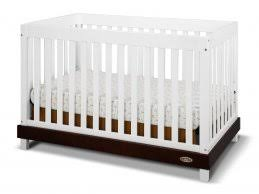 Non Convertible Cribs Convertable Cribs Fixed Side Convertible Crib In White Non