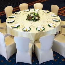 Chair Cover For Wedding Stretch Elastic Universal White Spandex Wedding Chair Covers For