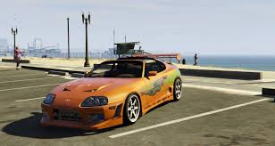 toyota supra fast and furious fast and furious toyota supra jza80 livery vehicules pour gta v