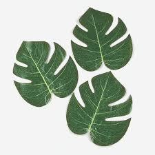 tropical leaves luau decorations leaves and decoration