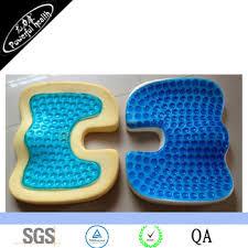 orthopedic cool gel foam seat cushions car train plane cushions