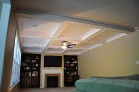 Cost Of Ceiling Fan Installation Interior Design Coffered Ceiling Cost With Ceiling Fan And Light