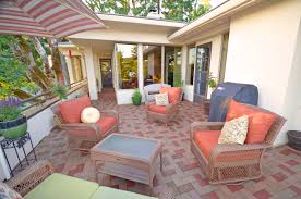 Paver Ideas For Patio by Flooring Azek Pavers Matched With White Wall Plus Sofa Sets Plus