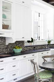 black and white kitchen cabinets designs 50 black countertop backsplash ideas tile designs tips