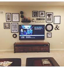 Tv Wall Shelves by Best 25 Wall Behind Tv Ideas Only On Pinterest Tv Display