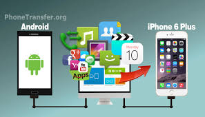 from android android to iphone 6 plus how to transfer all data from android