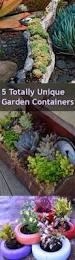 5 totally unique garden containers bless my weeds