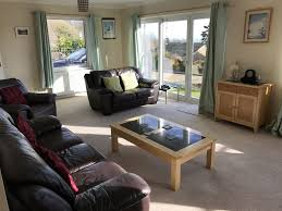 lovely detached chalet style house with glorious sea views near