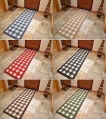 Rubber Floor Mats For Kitchen Non Slip Rubber Backing Long Narrow Hall Rugs Kitchen Floor Carpet