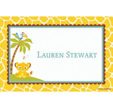 thank you notes for baby shower custom lion king baby shower thank you notes party city