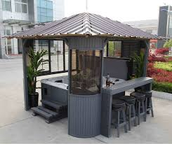 Gazebo With Bar Table Best 25 Hot Tubs Ideas On Pinterest Jacuzzi Outdoor Hot Tub