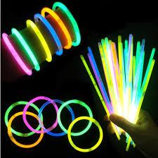 glow bracelets 2018 fluorescent bracelets glow sticks light sticks led toys