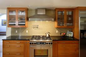 tiles backsplash red brick backsplash pre painted cabinet doors