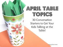25 unique table topics ideas on topics to talk about