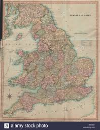 Map Of Wales England by Antique Map Of England U0026 Wales By Henry Teesdale 1831 Old Chart
