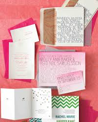 five ways to customize your wedding invitations martha stewart