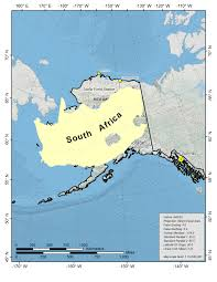 Alaska On The Map by Toolik Field Station General Maps