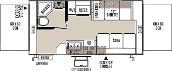 Rockwood Trailers Floor Plans New Rv Floorplans Vancouver Rv Center New And Used Rv Dealer
