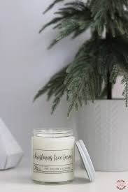 christmas tree farm soy candle u2013 elisabeth ashlie