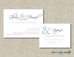 Create Your Own Wedding Invitations Wedding Invitation And Rsvp Vertabox Com