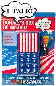 amazon com donald trump u0027s box of wisdom by smear campaigns