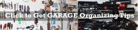 Garage Organizing - 5 tools for garage organization home tips for women