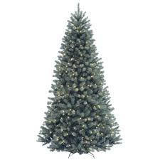 national tree company 7 1 2 ft valley spruce blue hinged