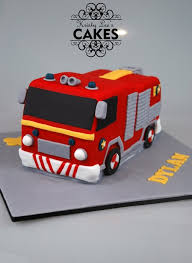 fireman sam fire engine cake kristyleescakes cakesdecor