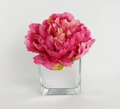 peonies flower house of hton artificial silk mixed ranunculus peonies flower