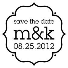Save The Date Stamp Custom Wedding Stamps Save The Date Stamps Paper Source