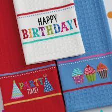 wholesale happy birthday embroidered dishtowel u2013 dii design imports